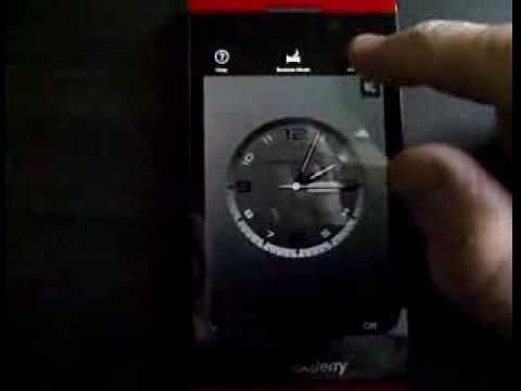 BlackBerry Z10 Porsche Design Clock (Easter Egg)