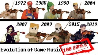 100 GAMES - The Evolution of Game Music | 1972-2019