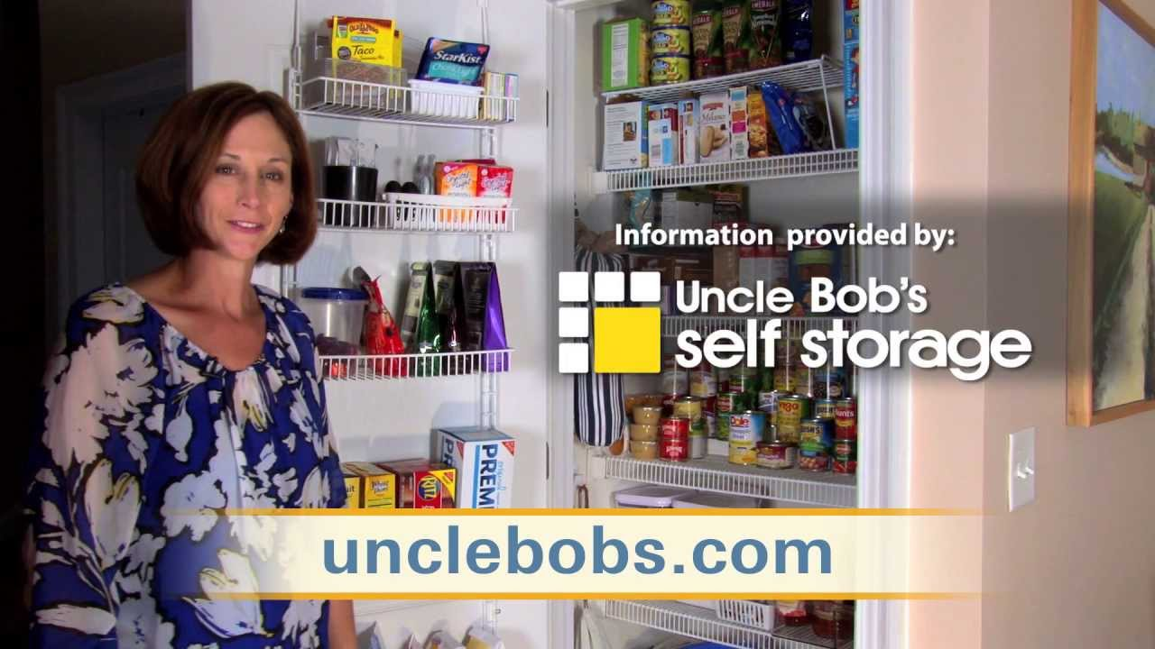 Organize Your Pantry With Uncle Bob 39 S Self Storage The Decluttered Home Youtube