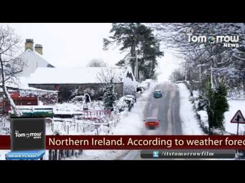 UK Storm Brings High Winds, Heavy Rain and Snow Fall