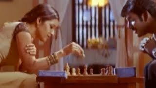 Vishal and Reema Sen playing chess - Prema Chadarangam Romantic Scenes - Vishal, Vivek
