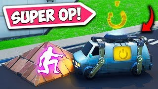 *NEW* SUPER OP RESPAWN VAN TRICK! - Fortnite Funny Fails and WTF Moments! #555
