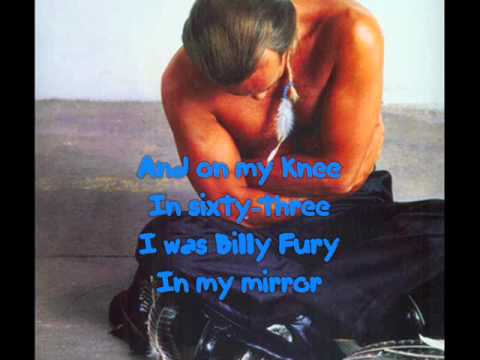 Bernie Taupin & Elton John - Billy Fury (with Lyrics!)