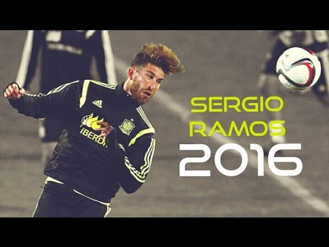 Sergio Ramos • The Wall | Crazy Defending • 2015/2016