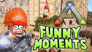 FUNNY MOMENTS | Ark Survival Evolved Highlights Part 1 | Ark Survival Evolved Best Moments Montage