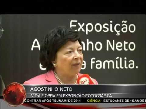 Exposição Agostinho Neto 2013, reportagem da TPA