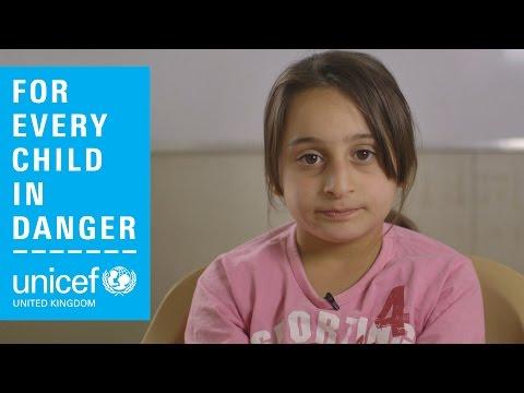 Children living in conflict: Mirna's story