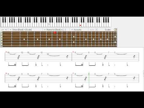 mein koi aisa geet gaaon - beginner lead tune guitar tabs