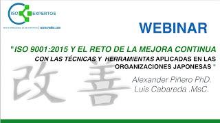 ISO 9001 2015 y el Reto de la Mejora Continua