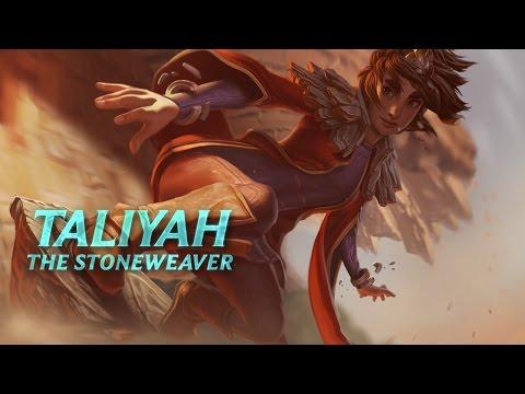 Taliyah Champion Spotlight - League Of Legends