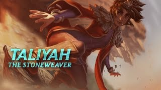 Taliyah: Champion Spotlight | Gameplay - League of Legends