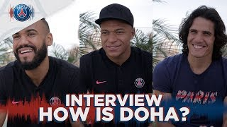 INTERVIEW with Mbappé, Cavani & Choupo-Moting