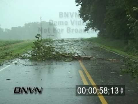 7/21/2004 High wind video and storm damage video