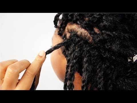 Mrs Rutters Perimeter Crochet Kinky Twists Tutorial Part 5 of 8 - Hairstyle Advice