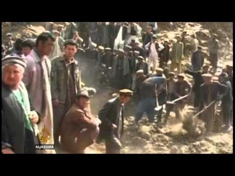 Thousands reported dead in Afghan landslide