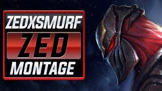 "Zedxsmurf ""S7 Rank 1 Zed"" Montage (Best Zed Plays) | League Of Legends"