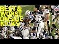 Best and Worst Onside Kicks since 2008 | NFL Highlights