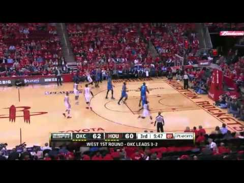 NBA Playoffs 2013: NBA Houston Rockets Vs Oklahoma City Thunder Highlights May 3, 2013 Game 6