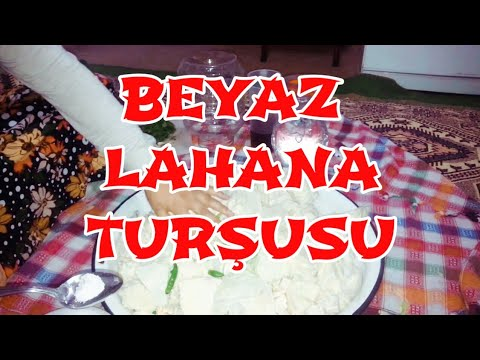 Beyaz lahana Turşusu