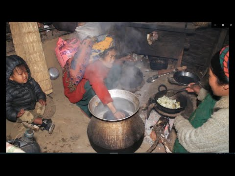 Making traditional alcohol ll Cooking organic curry potatoes