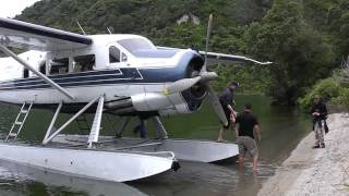 de Havilland Otter - Lake Tarawera - New Zealand