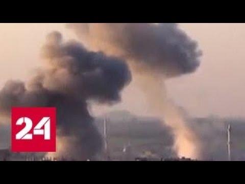 Россия требует расследовать поставки западного химоружия сирийским террористам
