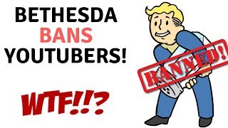 Fallout 76 Bans Youtubers For Exposing Glitches!