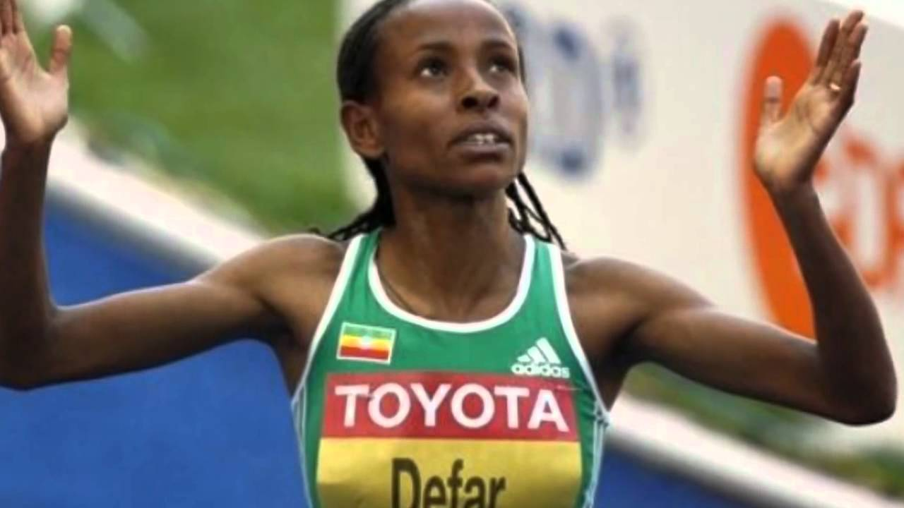 Meseret Defar of Ethiopia wins Olympic gold medal in women ...