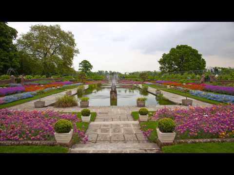 Kensington palace gardens Notting Hill London