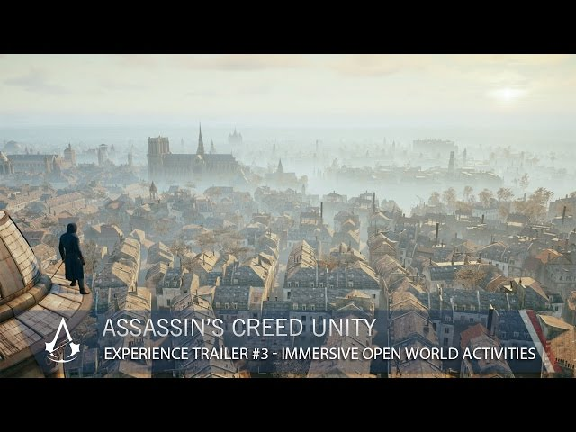 Assassin's Creed Unity Experience #3 Immersive Open World Activities [US]