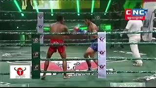 Lao Chantrea vs Noeungtrakan (Thai) CNC Khmer boxing 29/09/2018