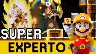 NERVIOS EXTREMOS CON ESTE FINAL!!! - SUPER EXPERTO NO SKIP | Super Mario Maker - ZetaSSJ