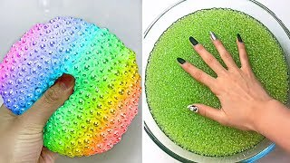 Relaxing Slime Compilation ASMR | Oddly Satisfying Video #91