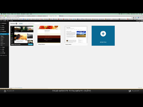 Tutorial // Criar um WebSite/Blog WordPress Totalmente Gratuito