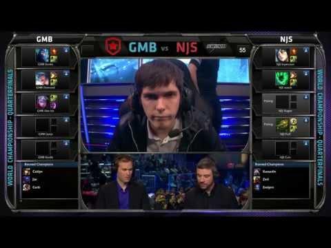 GMB vs NJBS | Gambit vs Najin Black Sword Game 1 Bo3 Worlds 2013 Quarter Finals S3 Championship VOD