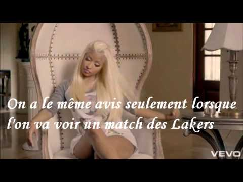 Nicki Minaj Feat. Chris Brown - Right By My Side Traduction Française video