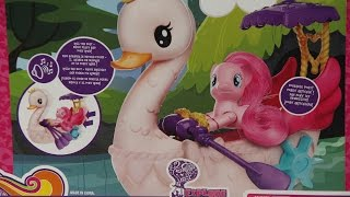 My Little Pony - Pinkie Pie Row & Ride Swan Boat Set / Pinkie Pie - Łabędzia Łódka - B3600