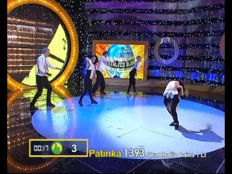 2011-11-25 - Unlimited dance crew @ 2 minutės šlovės