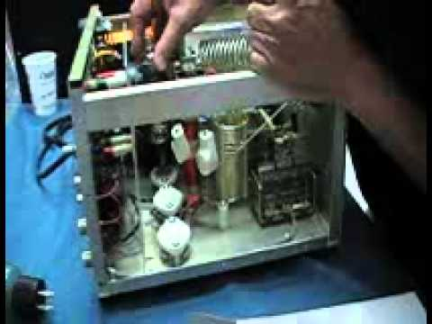 AL 811 AMP Changing Tubes.wmv