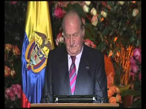 Palabras del Rey Juan Carlos en la cena ofrecida por Juan Manuel Santos