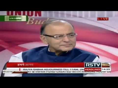 Finance Minister Arun Jaitley's post budget interview | Union Budget 2015-16