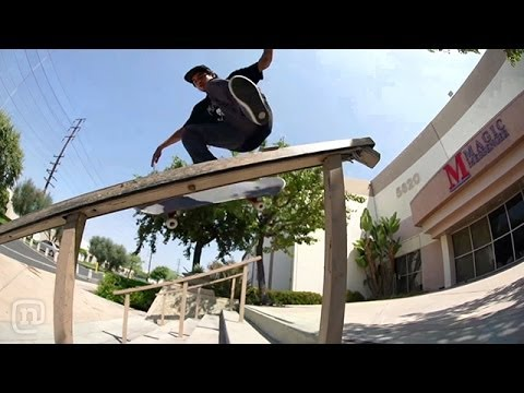 Skateboarding Behind The Clips w/ Richie Amador on NKA Project