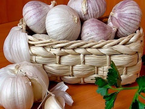 Белая шелуха от чеснока - средство для продления молодости!