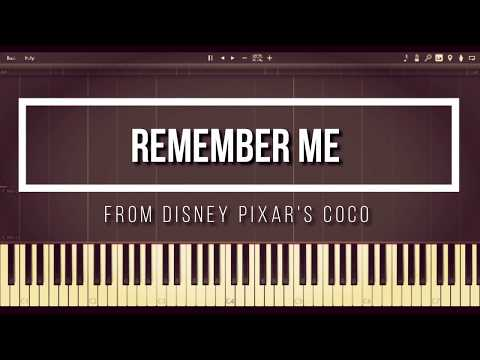 Remember Me from Coco (Piano Synthesia)
