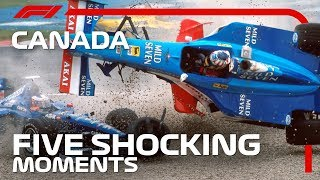 5 Shocking Moments At The Canadian Grand Prix