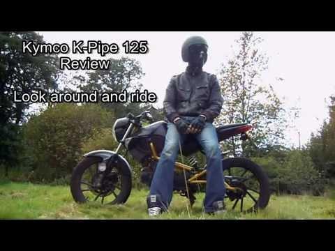 Kymco k Pipe 125 Custom