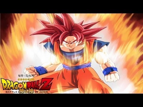 Dragon Ball Z - Battle of Gods - Super Saiyan God Goku. New Battle of Gods Series?!?