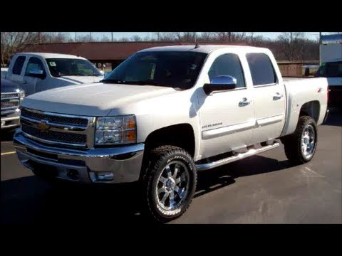2012 Chevy Silverado 1500 with 4&quot; Lift