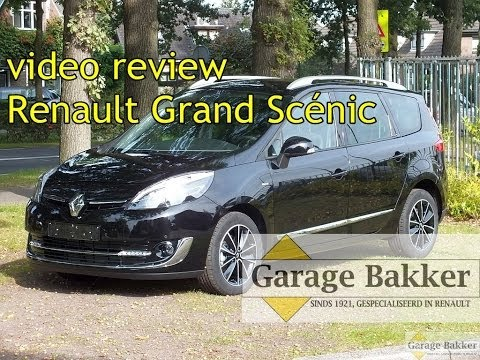 Video review Renault Grand Scénic dCi 110 Bose. 2013. 9-SPG-09