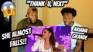Ariana Grande Thank U Next (World Premiere) The Ellen Show 2018 (REACTION)